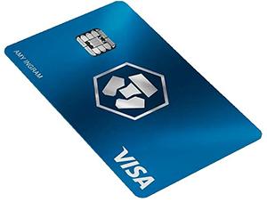 visuel de la mastercard gratuite de crypto.com